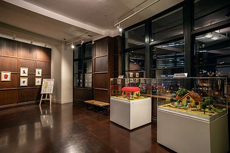 KITTE 旧東京中央郵便局長室の夜景