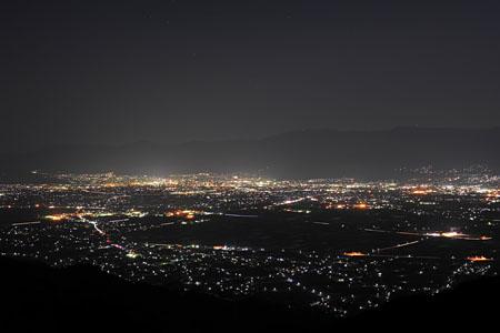 清水展望台の夜景