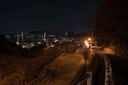 清滝公園の夜景