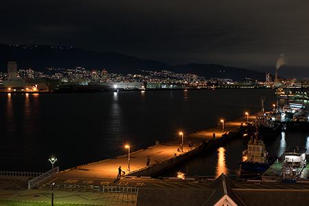 神戸大橋の夜景