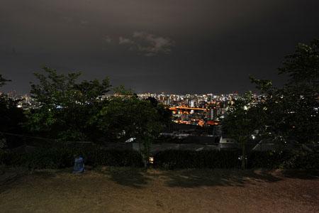 己斐東第五公園の夜景