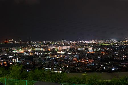 古謝団地 展望台の夜景