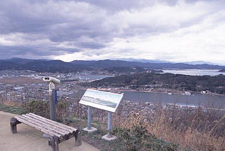 米ノ山の夜景