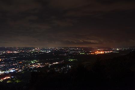 光明寺 見晴らし台の夜景