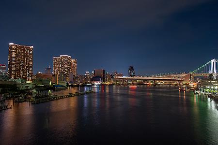 港南大橋の夜景