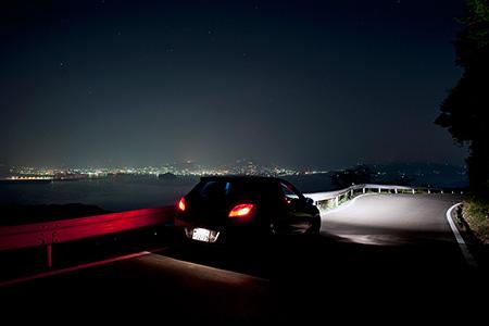 琴ノ尾公園の夜景