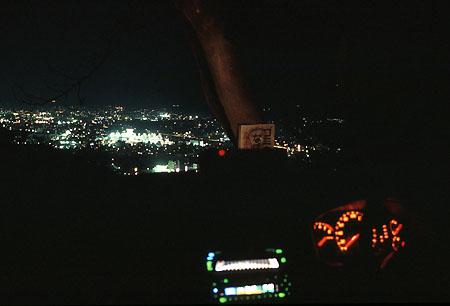 弘法山公園の夜景