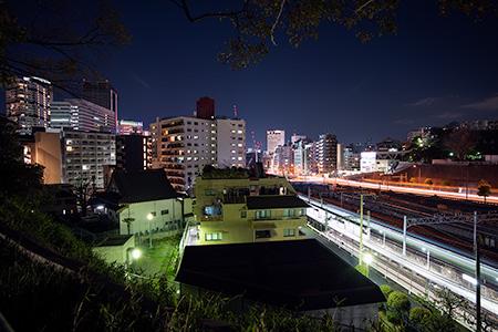 幸ヶ谷公園の夜景