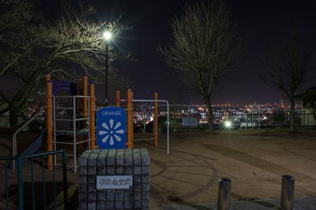 甲南台公園の夜景