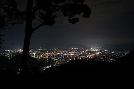 鴻ノ峰の夜景