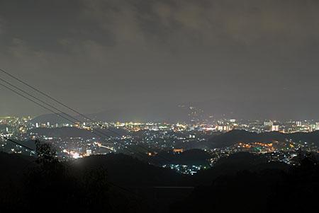 鴻ノ森の夜景
