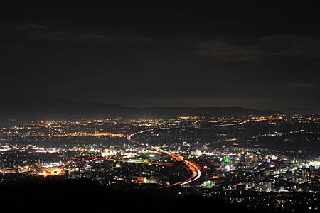 高良大社の夜景