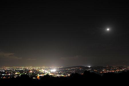 神園山の夜景