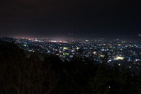 高野口公園の夜景
