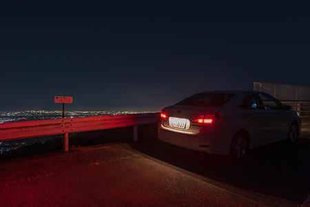 こざみね橋の夜景