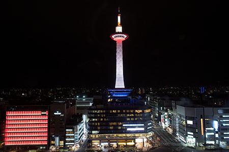 京都駅 空中経路
