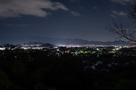 久延彦神社の夜景