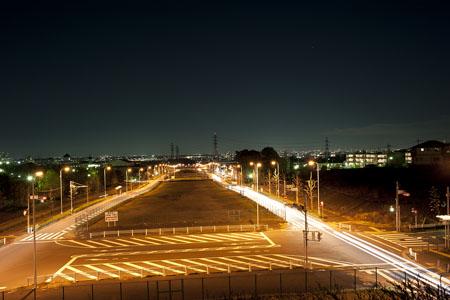 くじら橋の夜景
