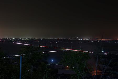 熊野神社の夜景