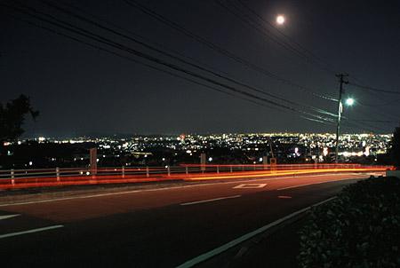 国見峠の夜景