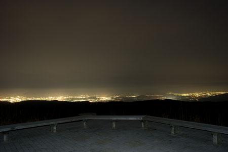 国見岳の夜景