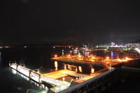 呉中央桟橋ターミナル展望室