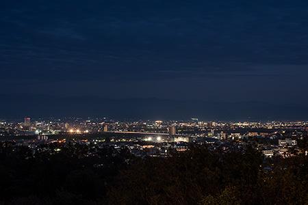 呉羽山の夜景