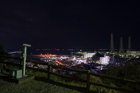 くりはま花の国の夜景