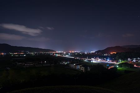 久里双水古墳公園の夜景