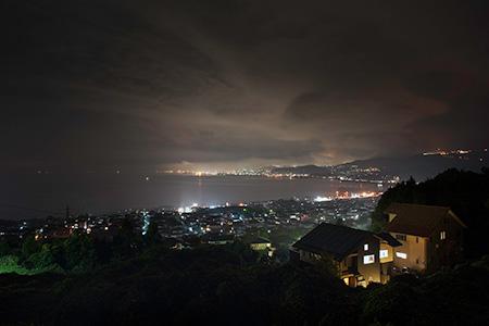 黒岩公園の夜景