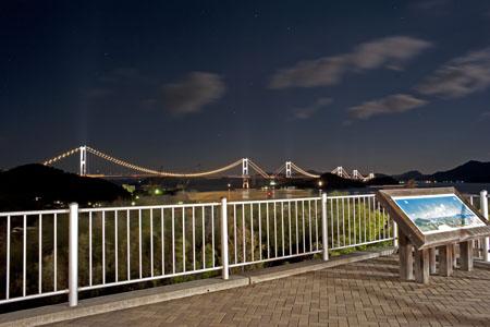 来島海峡SAの夜景