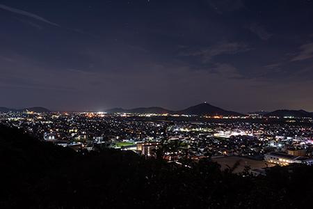 桑山公園の夜景