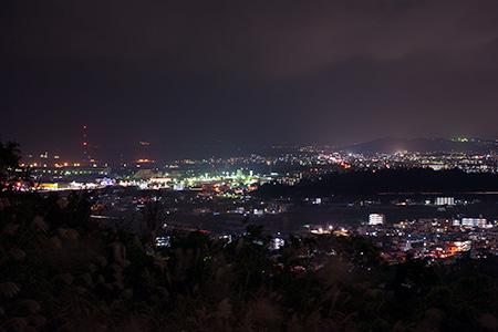 喜屋武マーブ公園の夜景