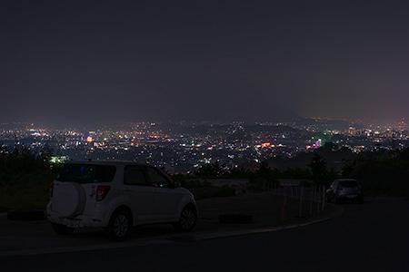 大分県教育会館近くの夜景