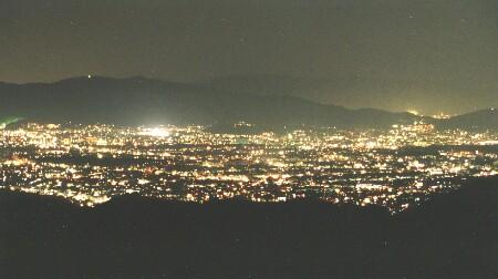 京見峠の夜景