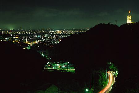 ランド坂の夜景