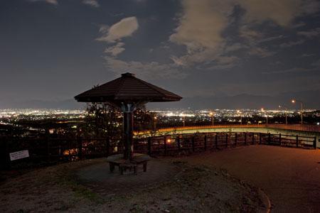 桃花橋ループの夜景