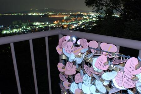ラバーズヒルの夜景