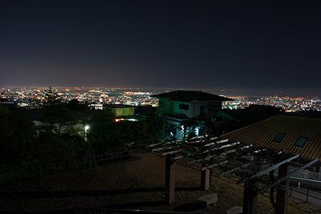 前山公園の夜景
