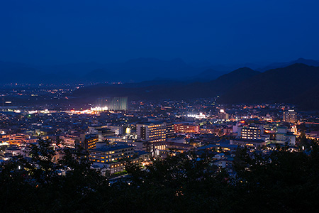 舞鶴公園の夜景
