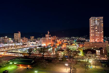 舞鶴城公園の夜景