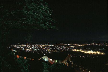 牧ノ原公園の夜景