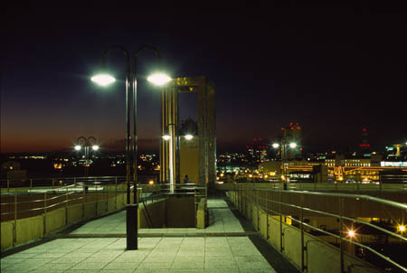 まなぼっと幣舞展望デッキの夜景