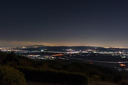 万灯呂山展望台の夜景