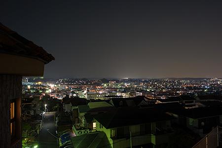 万葉公園の夜景