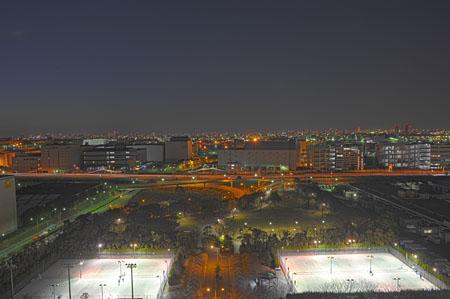 川崎マリエンの夜景