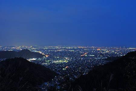 丸子の夜景