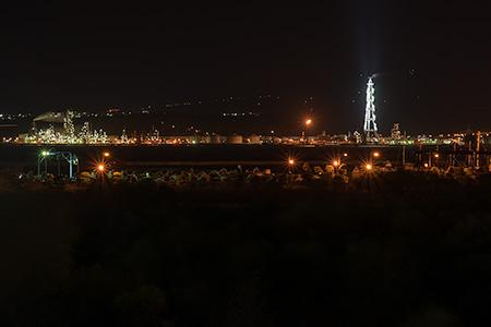 マリーナ線の夜景