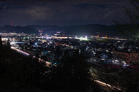丸子山公園 展望台