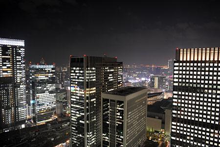 丸の内ビル 35階の夜景